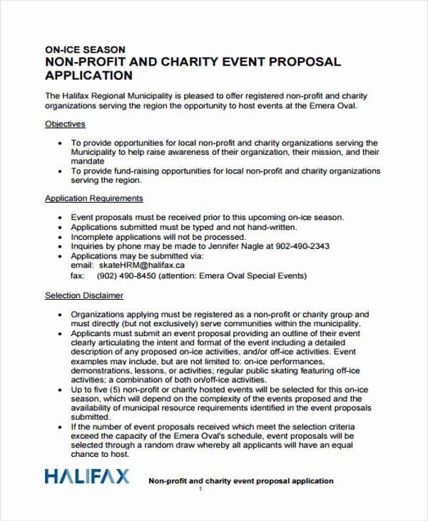 Event Planning Proposal Template Best Of 45 event Proposals In Pdf