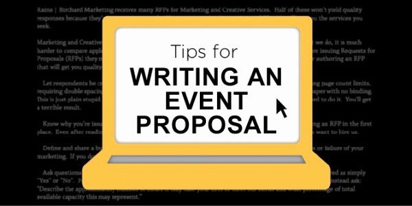 Event Planning Proposal Template Inspirational How to Write An event Planning Proposal eventplanning