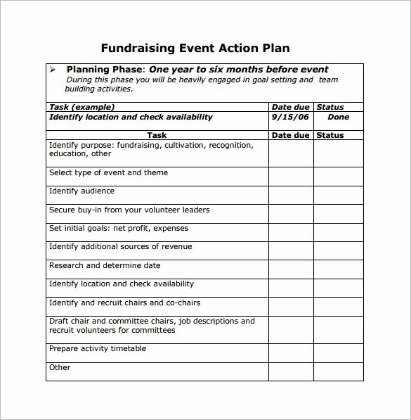 Event Planning Template Free Elegant event Planning Template
