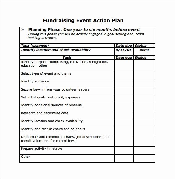 Event Planning Template Free Luxury Free 10 Sample event Planning Templates In Pdf