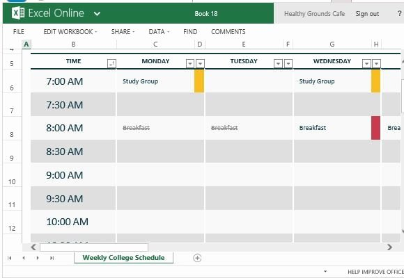 Excel Class Schedule Template New How to Easily Create Class Schedules Using Excel