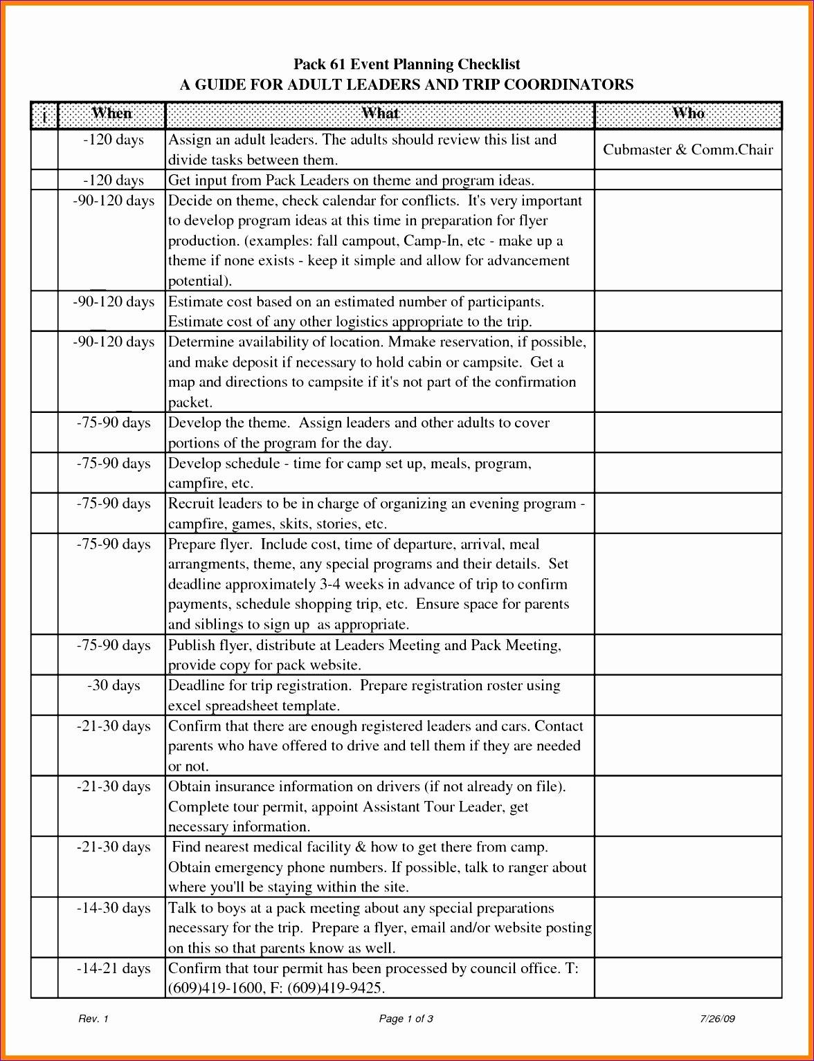 event timeline template excel v7153