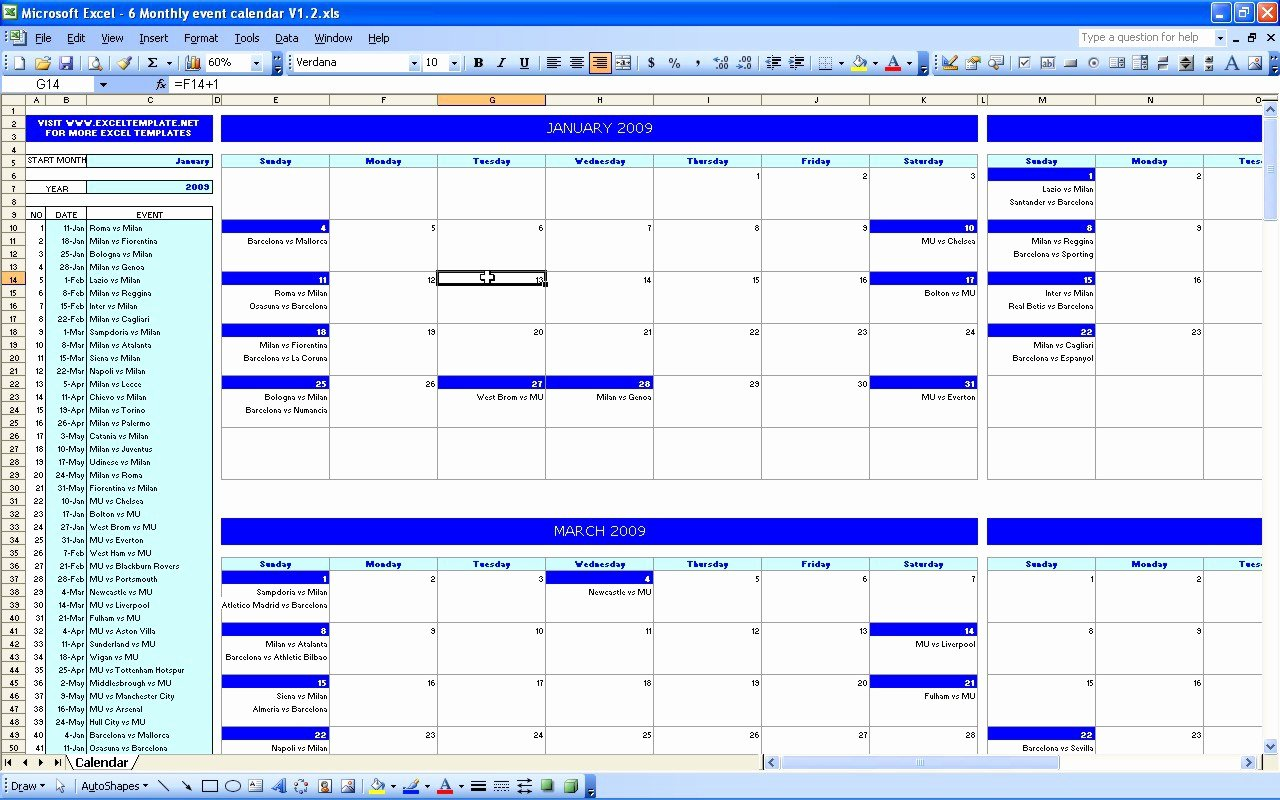 Excel event Planning Template Inspirational Admin