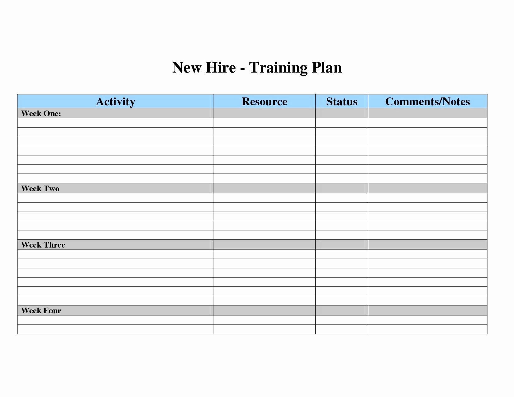 Excel Training Schedule Template Fresh Employee Skills Matrix Template Excel Happy Living