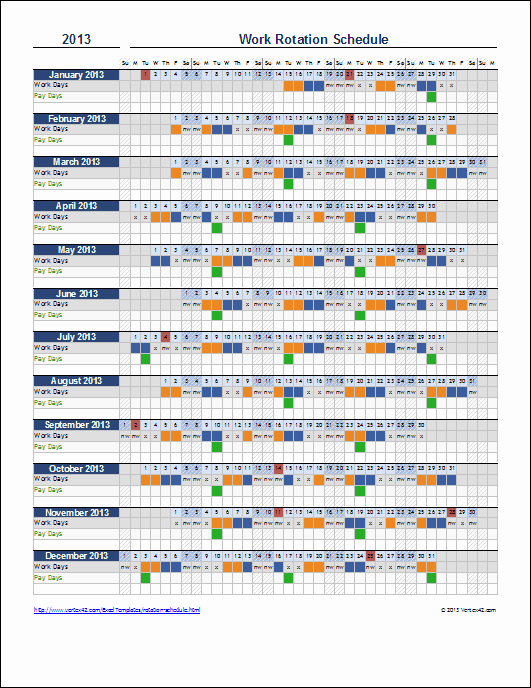 Excel Work Schedule Template Awesome Monthly Employee Schedule Template Excel