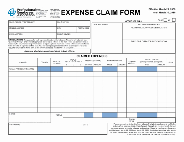 Expense Reimbursement form Template Lovely 4 Expense Claim form Templates Excel Xlts