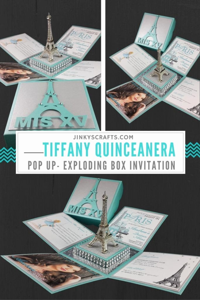 Exploding Box Invitation Template Elegant Exploding Box Invitation Template Free Tiffany Exploding
