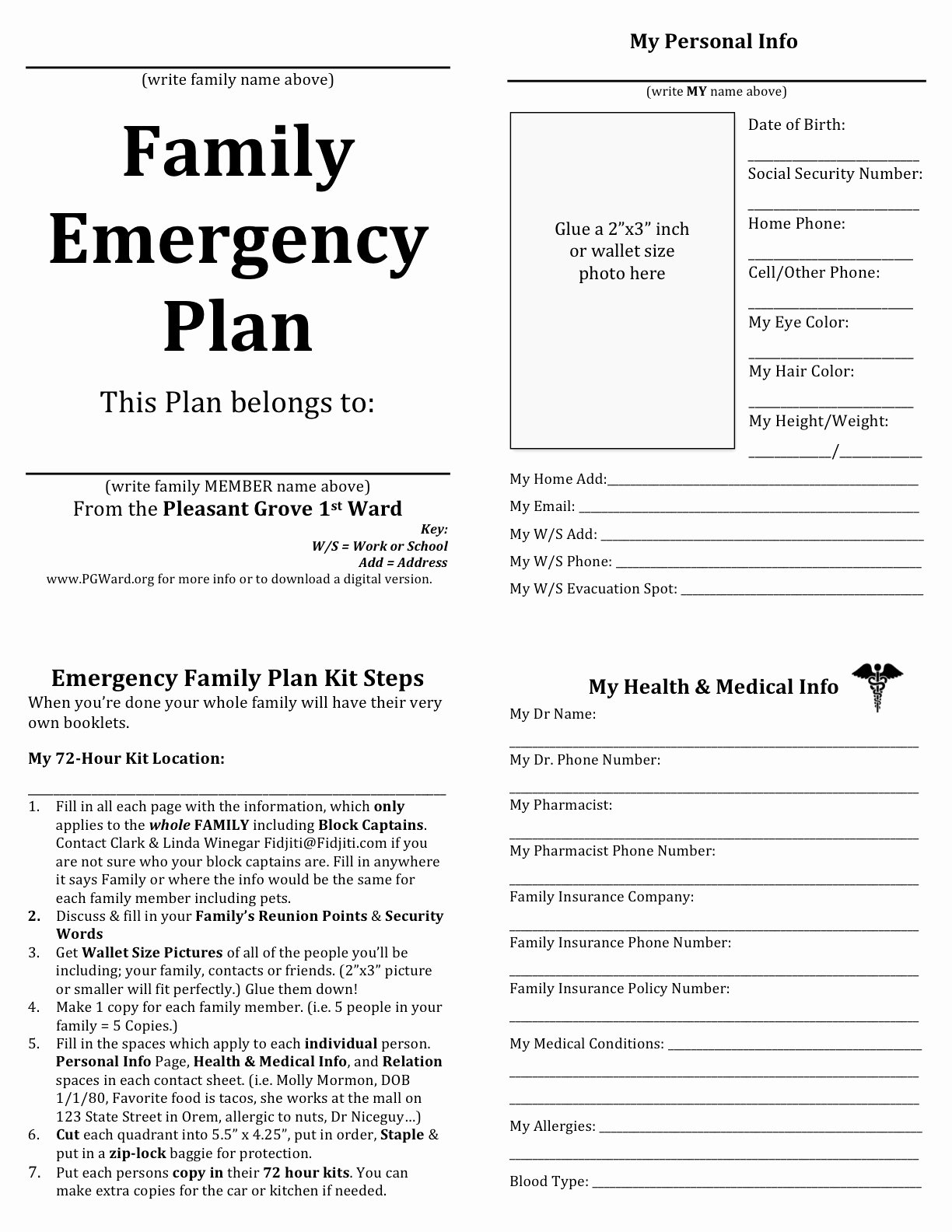 Family Emergency Preparedness Plan Template Inspirational Emergency Planning Quotes Quotesgram