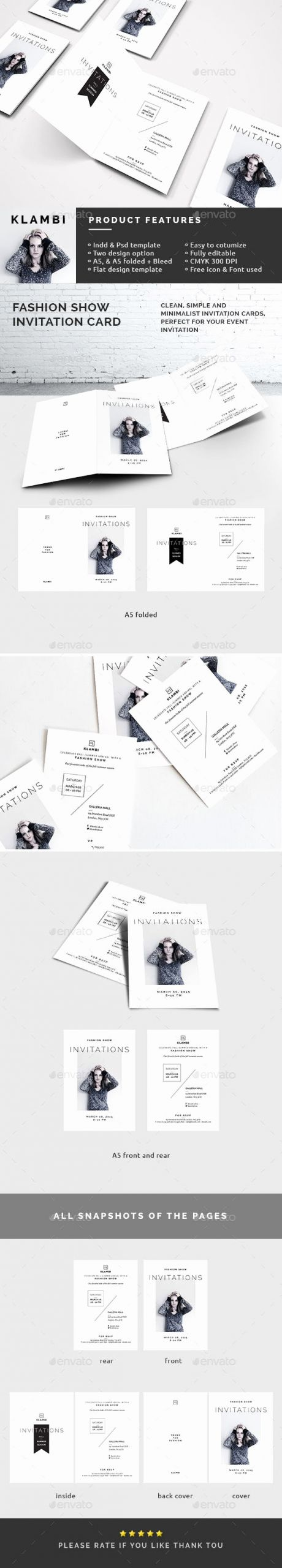 Fashion Show Invitation Template Best Of Fashion Show Invitation Template by Boxkayu