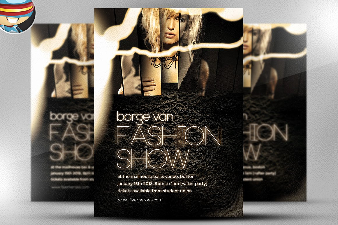 Fashion Show Invitation Template Lovely Fashion Show Flyer Template Flyer Templates On Creative