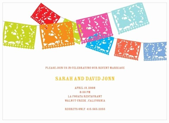 Fiesta Party Invitation Template Lovely Greer Loves Cinco De Mayo Wedding Stationery & Paper Goods