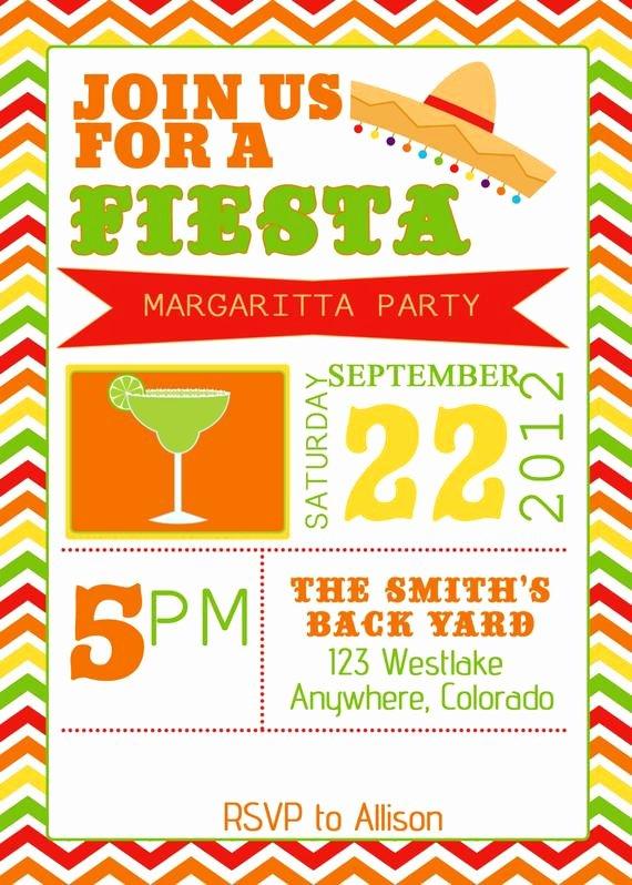 Fiesta Party Invitation Template Unique Items Similar to Fiesta Party Invitation Invite Birthday