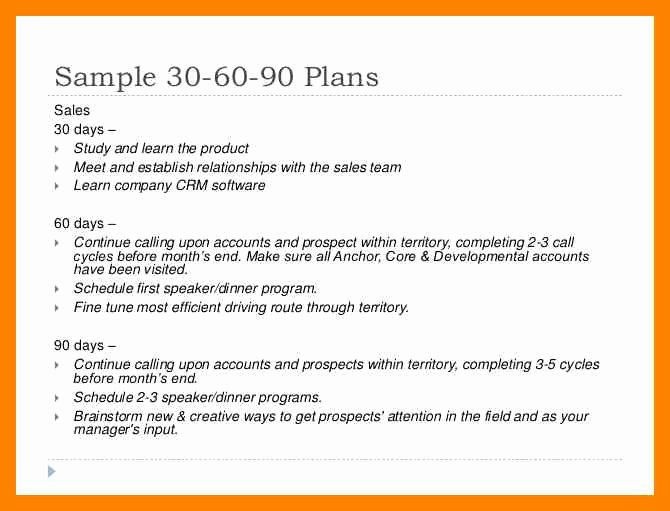 First 90 Days Plan Template Beautiful 5 90 Day Plan for New Managers Examples Pdf