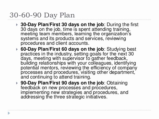 First 90 Days Plan Template Best Of 30 60 90 Day Plan for Lifelong Learning