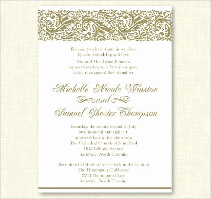 Formal event Invitation Template Best Of Inspiring Personalized Invitation Templates Picture