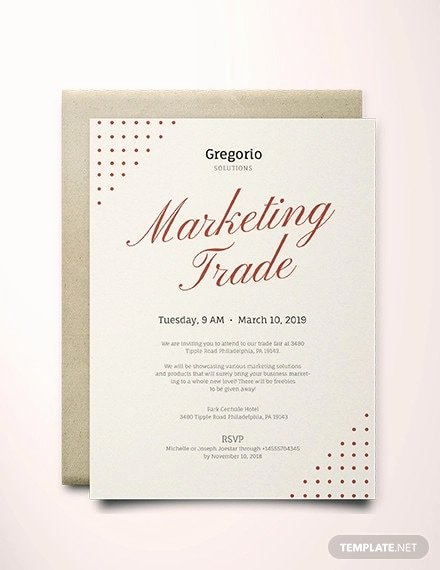 Formal event Invitation Template Fresh Free 45 event Invitation Examples In Psd Word