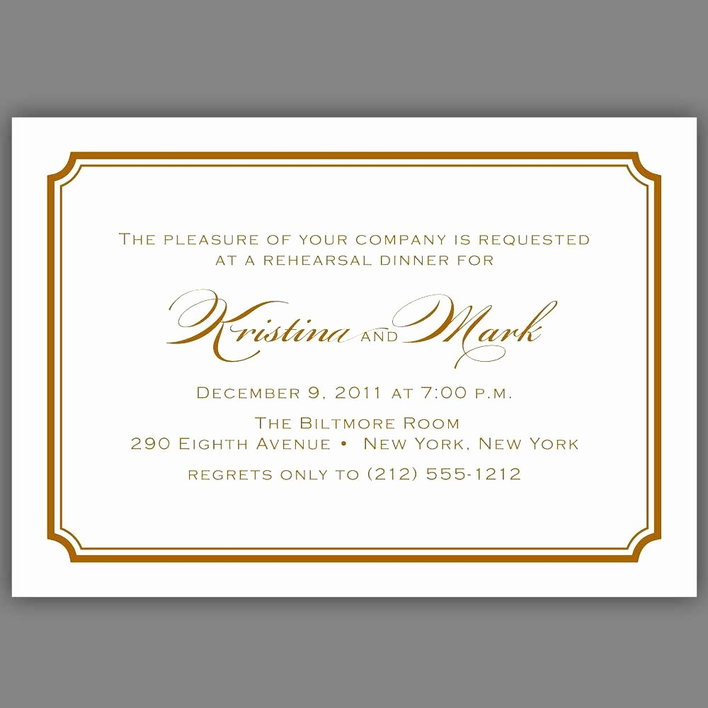 Formal event Invitation Template Fresh Luncheon Invitation Template Word