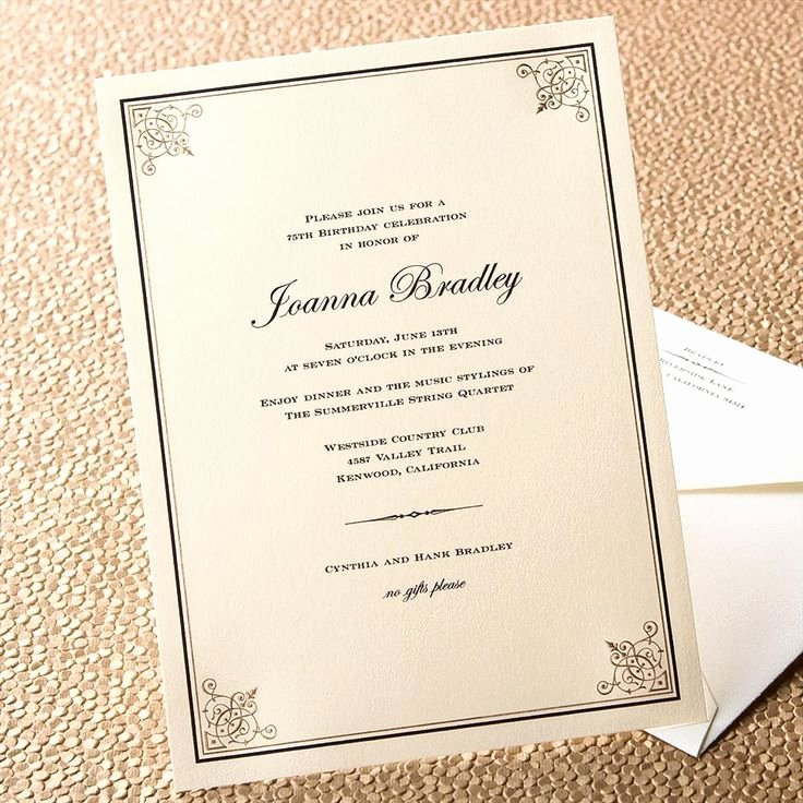 Formal event Invitation Template Lovely 17 Best formal Invitations Images On Pinterest
