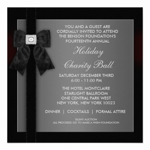 Formal event Invitation Template Unique Corporate Black Tie event formal Template 5 25x5 25 Square