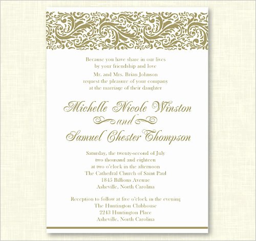 Formal Invitation Template Free Beautiful 77 formal Invitation Templates Psd Vector Eps Ai