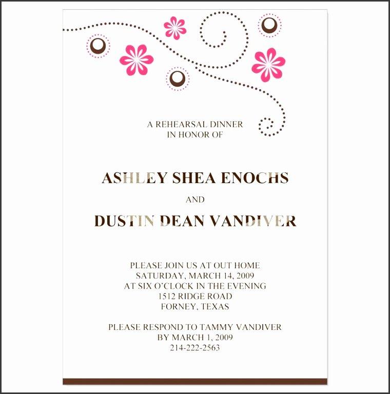 Formal Invitation Template Free Best Of 9 formal Dinner Invitations Sampletemplatess