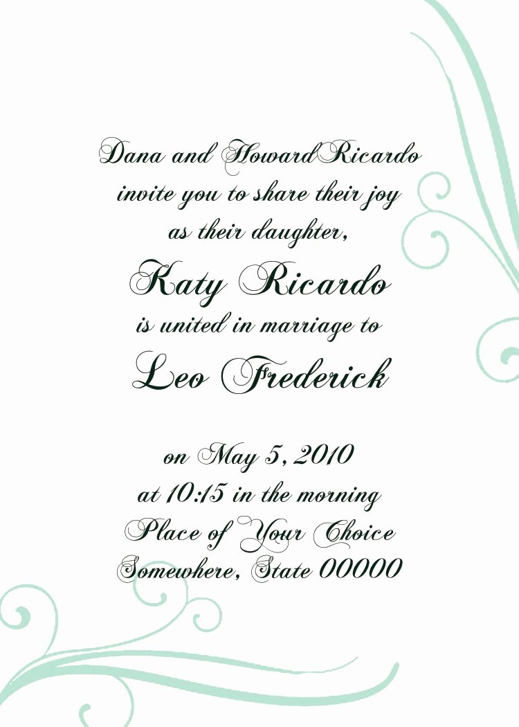 Formal Invitation Template Free Elegant Micaela Brody S Line Portfolio Invitation Templates