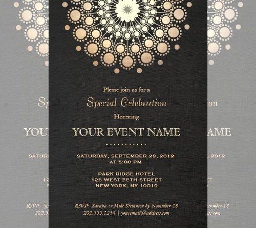 Formal Invitation Template Free Fresh 77 formal Invitation Templates Psd Vector Eps Ai