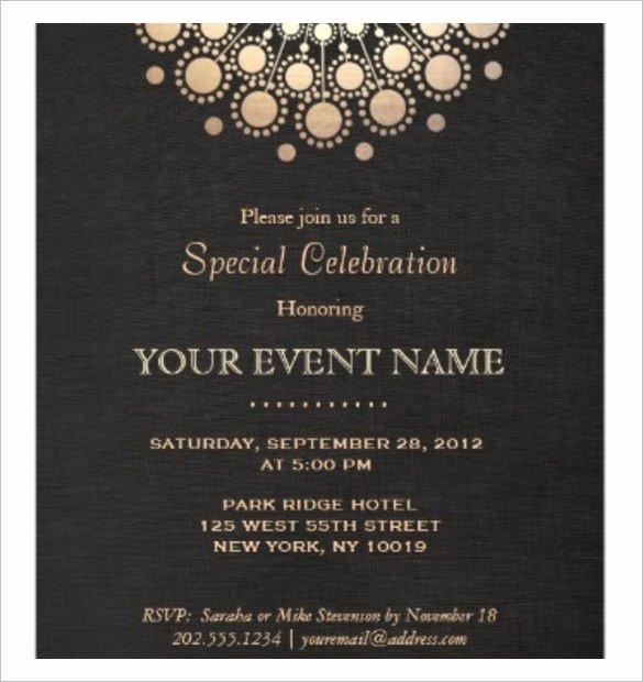 Formal Invitation Template Free Inspirational 37 Invitation Templates Word Pdf Psd Publisher