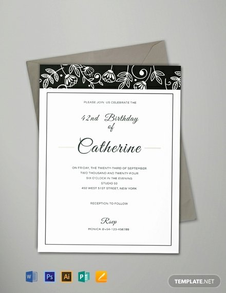 Formal Invite Template Free Luxury 10 Free event Invitation Templates In Microsoft Publisher
