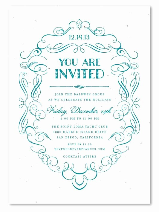 Formal Invite Template Free Unique formal Dinner Invitation Template