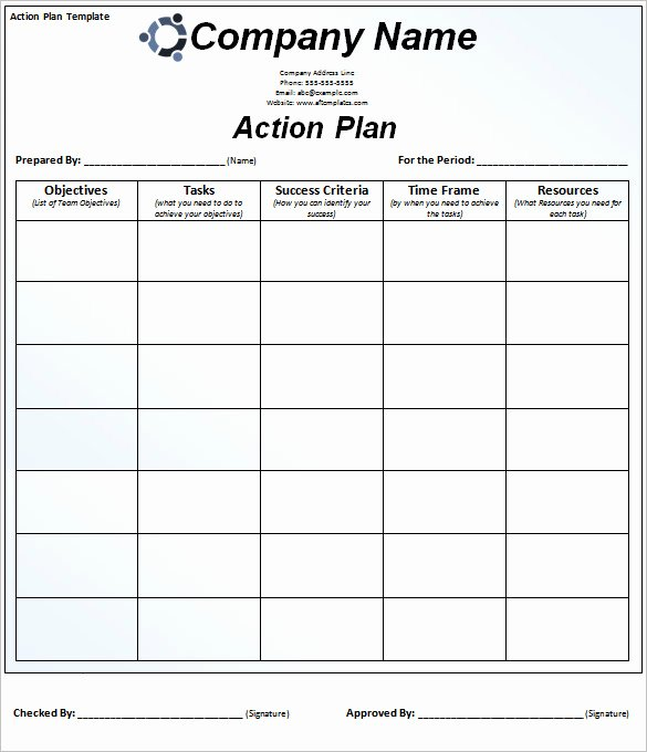 Free Action Plan Template Inspirational 90 Action Plan Templates Word Excel Pdf Apple Pages