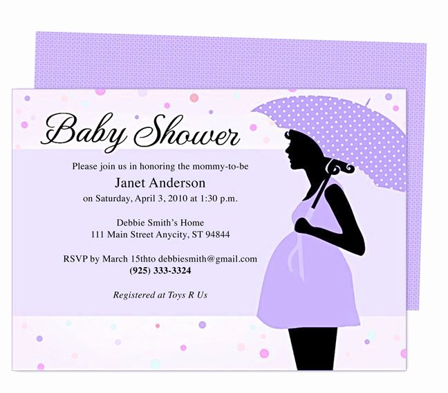 Free Baby Invitation Template New Free Printable Baby Shower Invitations for A Girl Google