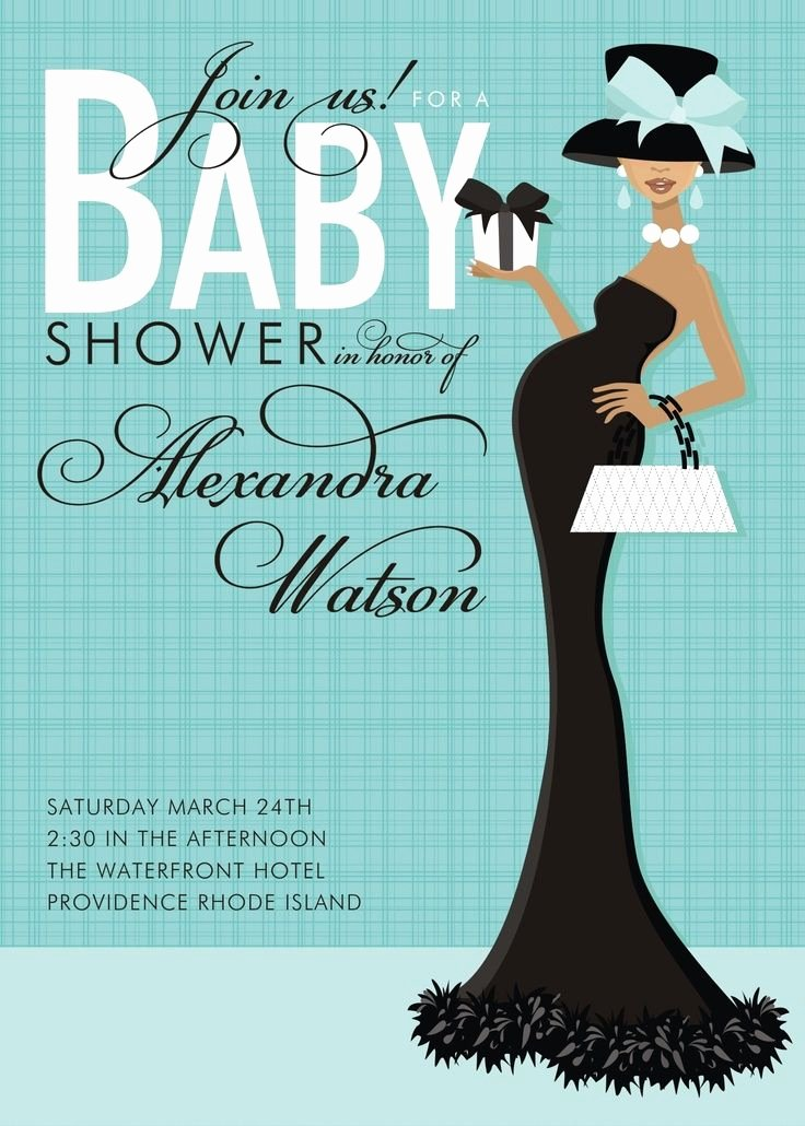 Free Baby Invitation Template Unique Elegant Baby Shower Ideas