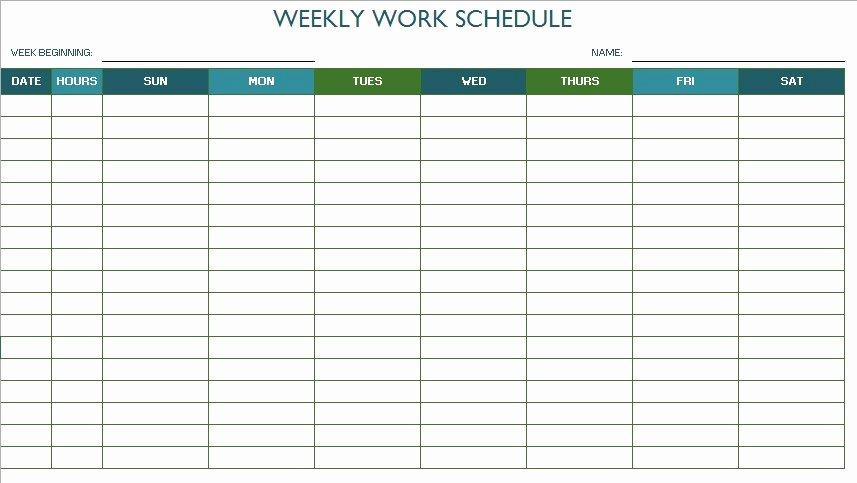 Free Class Schedule Template Inspirational 11 Free Sample Class Schedule Templates Printable Samples