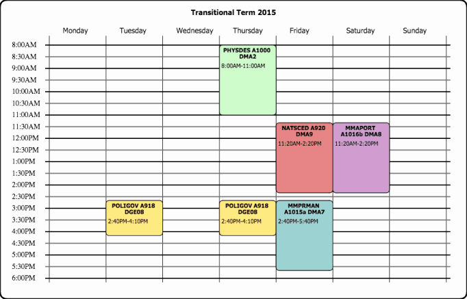 Free Class Schedule Template Unique 8 Class Schedule Makers Excel Templates