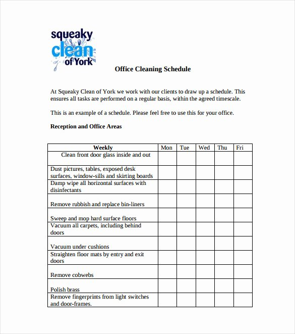 Free Cleaning Schedule Template Best Of Door Schedule Layout & Schedules Sc 1 Th 206