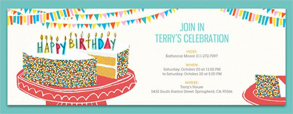 Free Email Invitation Template Best Of 9 Email Party Invitations Free Editable Psd Ai Vector