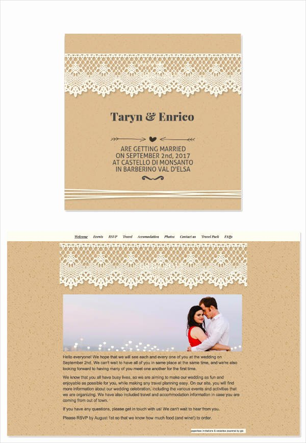 Free Email Invitation Template Inspirational 8 Wedding E Mail Invitation Templates Psd Ai Word