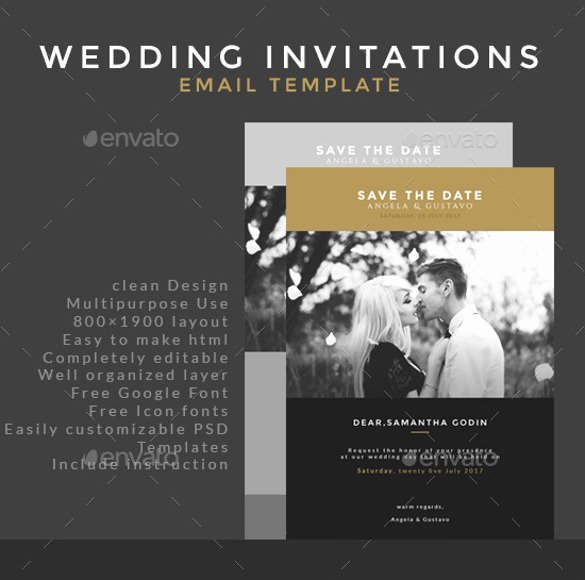 Free Email Invitation Template Unique 20 Email Invitation Templates Psd Ai Word