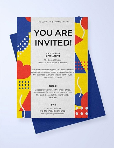 Free Email Invitations Template Beautiful Free 13 Invitation Email Examples & Samples In Publisher