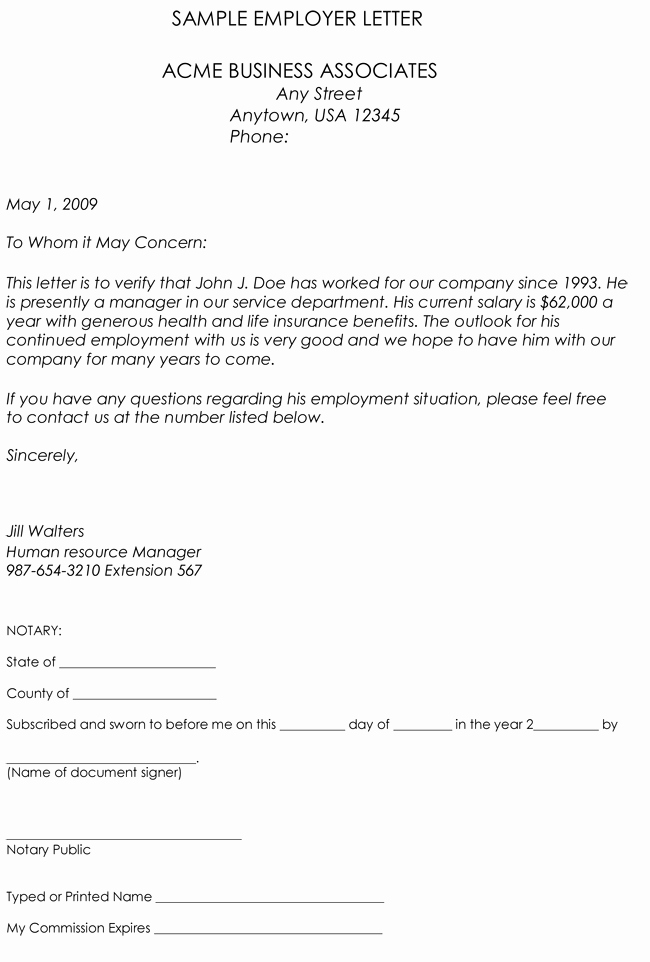 Free Employee Verification form Template Elegant Employment Verification Letter 8 Samples to Choose From