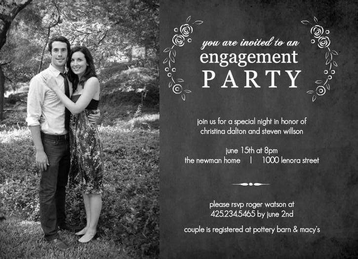 Free Engagement Party Invitation Template Best Of Engagement Party Invitations Free Download