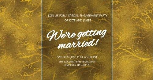 Free Engagement Party Invitation Template Elegant Engagement Announcements and Party Invitation Templates