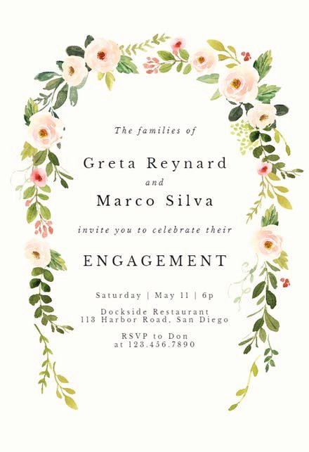 Free Engagement Party Invitation Template Fresh Engagement Party Invitation Templates Free