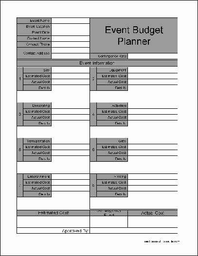Free event Planner Template Awesome event Planner Template Free Download – Planner Template Free