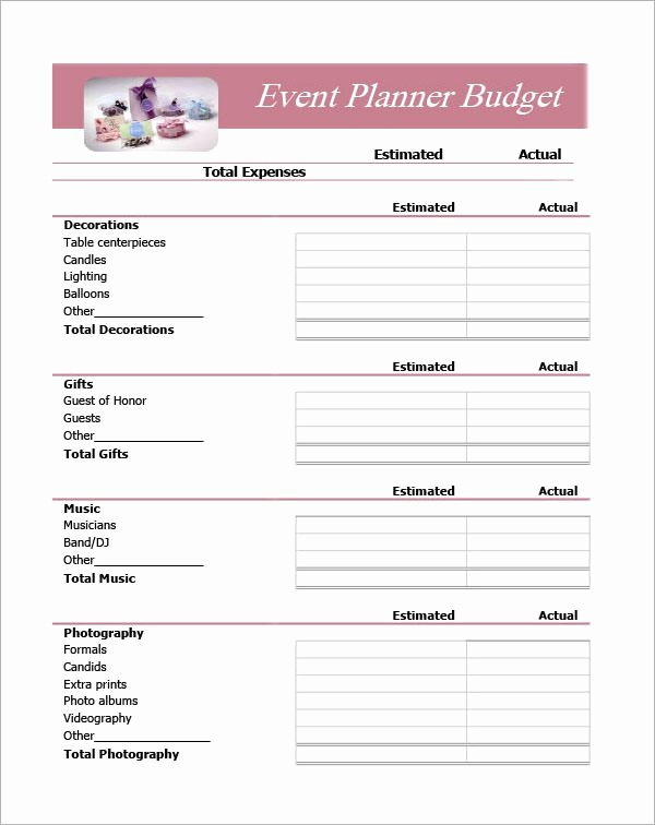 Free event Planning Template Beautiful Free 10 Sample event Planning Templates In Pdf