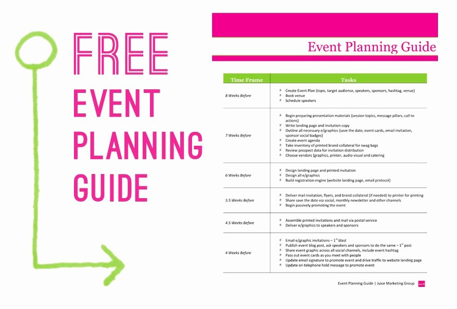 Free event Planning Template Download Best Of Free event Planning Template Via Juice Marketing Group