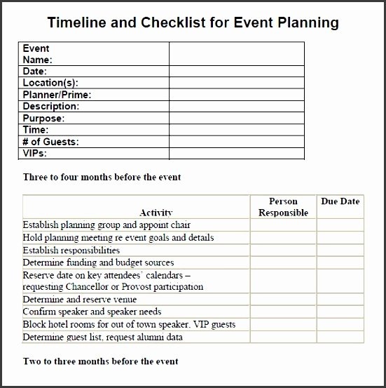 Free event Planning Template Download Lovely 7 Printable Conference Planning Checklist