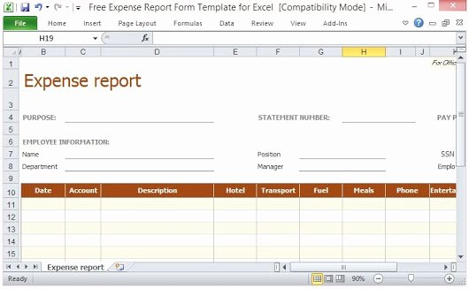 Free Expense form Template Inspirational Fppt Powerpoint Templates Google