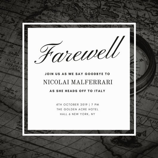 Free Farewell Invitation Template Beautiful Customize 3 999 Farewell Party Invitation Templates